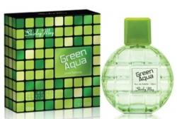 Shirley May Green Aqua