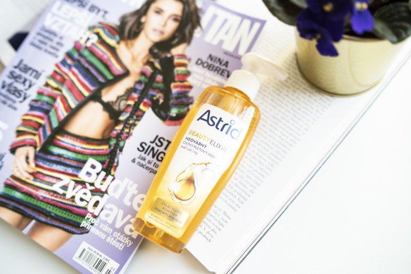 Astrid Beauty Elixir čisticí pleťový olej