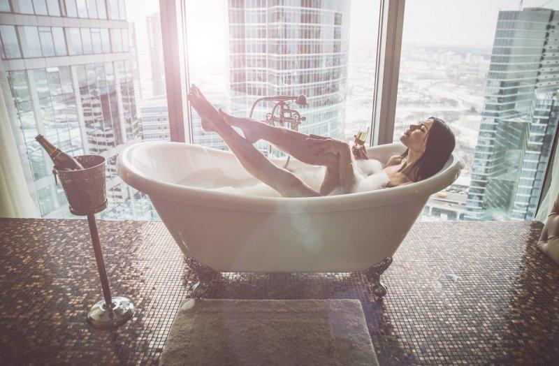 Pěna do koupele uvolní tělo i mysl. Zdroj: oneinchpunch / Shutterstock, Inc.