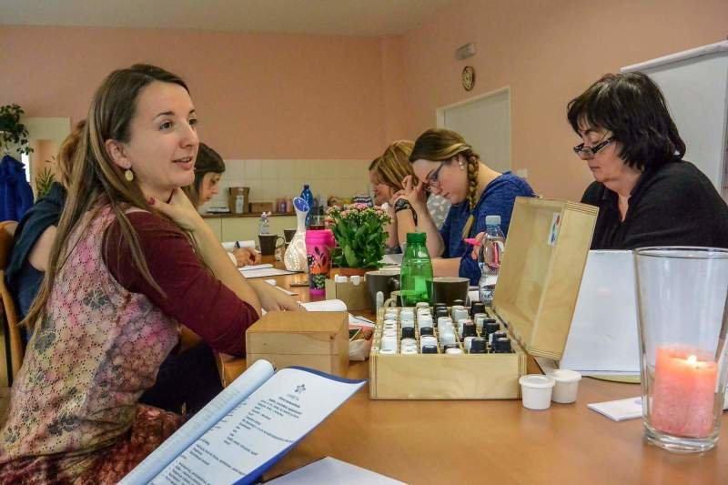 Míša pořádá kurzy o aromaterapii. Autor: Jana Pletánková