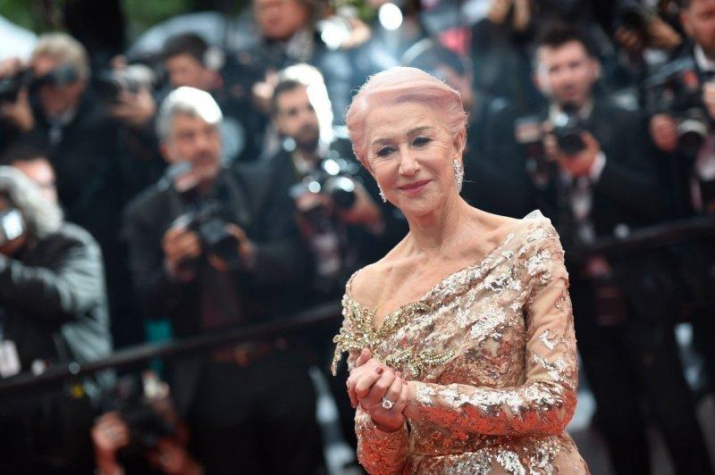 Helen Mirren v Cannes. Zdroj: Profimedia.cz.