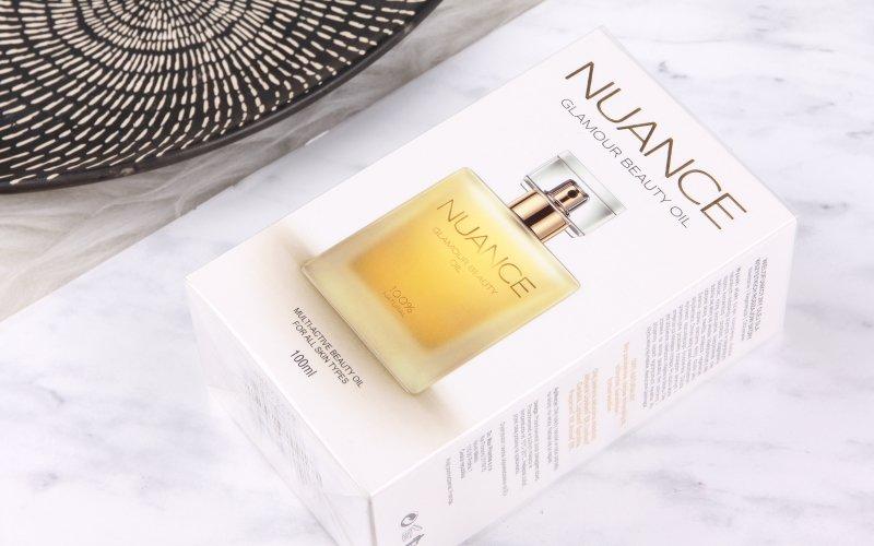 Špičkový olej Nuance Glamour Beauty Oil má blahodárné účinky na pleť.