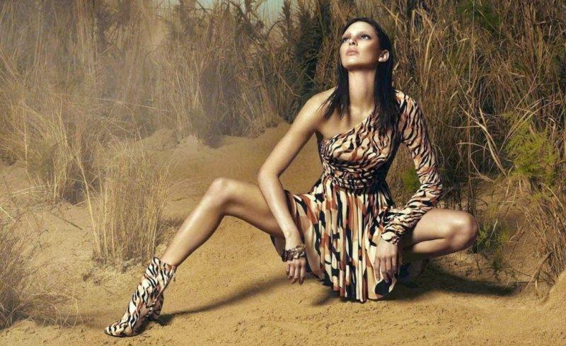Modelka Kendall Jenner uvedla jednu z kolekcí pro Cavalliho. Zdroj: Profimedia